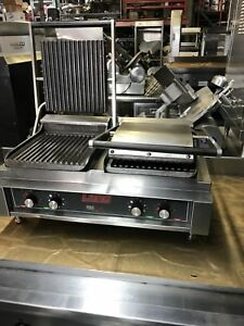 Lang Panebella Sandwich Griddle Panini Grill Restaurant Bakery Deli Equipment