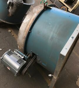Binks Paint Booth Large Radial Exhaust Fan 10hp 30 4228