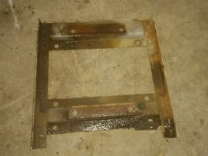 Wisconsin Vg4d Engine Power Unit Bottom Base Frame Part Mounting Brackets