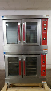 Vulcan Natural Gas Vc4gd 10 Double Stack Convection Ovens Tested