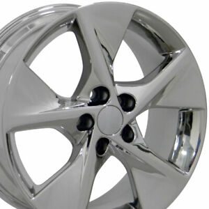 18x7 5 Wheel Fits Toyota Camry Style Chrome Rims Hollander 69605 Set cp