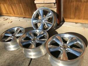 20x9 Inch Chrome Wheels Perfect Condition