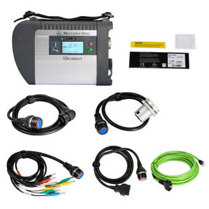 Dhl Mb Sd C4 Connect Compact 4 Star Diagnosis With Wifi For Cars And Trucks