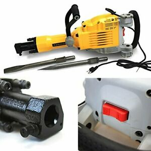 2200watt Heavy Duty Electric Demolition Jack Hammer Concrete Breaker W case
