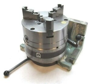 Nice Bison 8 Horizontal vertical Rotary Indexing Super Spacer W 8 Chuck
