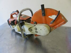 Stihl Ts400 14 Concrete Saw_ Not Running Sell As is For Part Or Rebuild