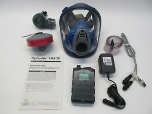Msa Optimair Mm2k Powered Air Purifying Respirator W Xl Filter Assembly He 2504