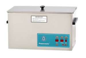 Crest Powersonic 2 5 Gal Digital Ultrasonic Cleaner 132khz Sweep P1200d 132