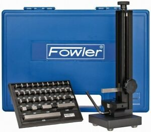 Fowler 53 646 000 Inch Bore Gage Setting Master Kit