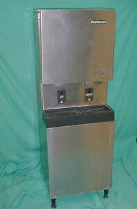 Scotsman Mdt5n25a 1h Touchfree Air Cooled Nugget Ice Maker And Dispenser