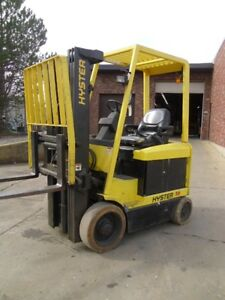 Cushion Tire Electric Forklift Hyster E50xm 33 5000 36v