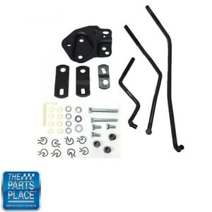 1955 67 4 Speed Shifter Linkage Kit For Hurst Shifters With Muncie Trans