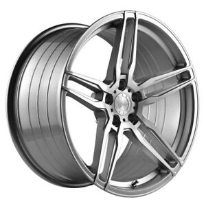 20 Vertini Rf1 6 Forged Silver Concave Wheels Rims Fits Ford Mustang Gt