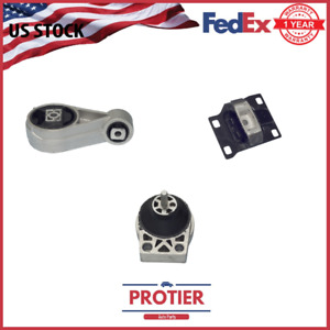 Engine Motor Trans Mount Set 2000 2003 Ford Focus 2 0l Dohc