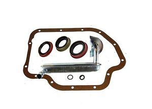 Gm 1964 1967 Th 400 Transmission Deluxe Filter Kit With Seals Rear Wheel Dr