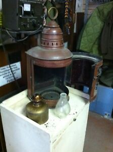 Nautical Lantern Complete With The Light Source Inside