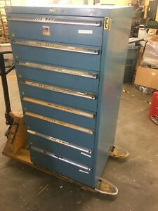 Lista 8 drawer Industrial Tool Parts Storage Cabinet