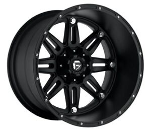 Fuel Hostage D531 18x9 6x135 6x5 5 Et20 Matte Black Rims Set Of 4