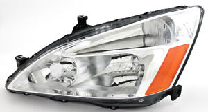 For 2003 2004 2005 2006 2007 Honda Accord hybrid Headlight Headlamp Driver Side