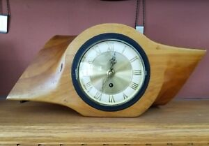 Vintage Wooden Airplane Propeller Clock Antique Old Aviation Plane Clocks