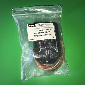 Hme Ce417 External Vehicle Detector 963015 Rev A New