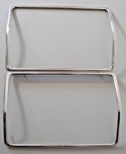 Ford Thunderbird T bird 1977 1978 1979 Headlight Trim Front Set Pair Door Rings