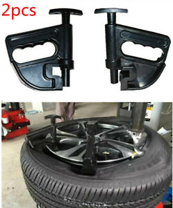 2pc Car Motorcycle Tire Changer Wheel Rim Removal Bead Clamp Drop Center Tool