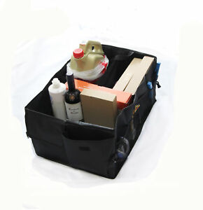 Boot Trunk Organizer Collapsible Cargo Heavy Duty Storage Bag For Hyundai