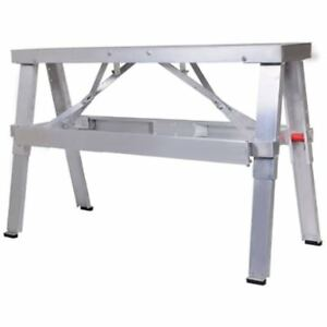 Adjustable Tool Professional Aluminum Drywall Bench Walk up 18 30 Folding Duty