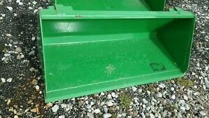John Deere Quick Attach Tractor Front End Loader 55 55 Inch Bucket