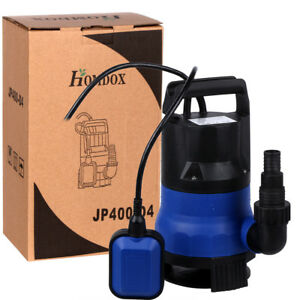 Submersible Water Pump 1 2 Hp 2000gph Clean Dirty Pool Pond Flood Drain Quality