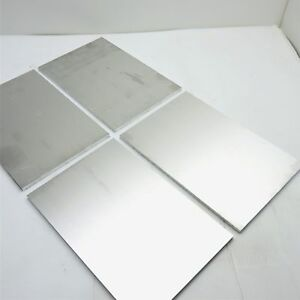 25 Thick 1 4 Aluminum 6061 Plate 9 625 X 13 75 Long Qty 4 Sku 174399