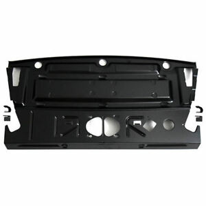 66 67 Malibu Chevelle Hardtop Rear Seat Deck Package Tray Speaker Shelf Panel