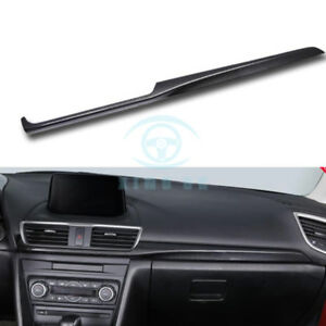 Fit For Mazda 3 Axela 2017 18 Carbon Fiber Style Inner Car Central Covers Trim