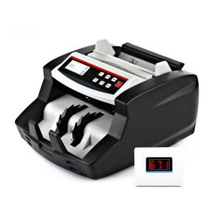 Automatic Digital Cash Banknote Money Counting Bill Counter Machine 2nd Lcd
