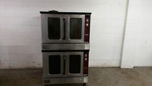Southbend Silver Star Slgs 22sc Double Stack Gas Convection Oven 115v Tested