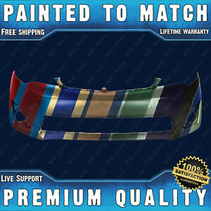 New Painted To Match Front Bumper Fascia Direct Fit For 2012 2014 Camry L E Xle