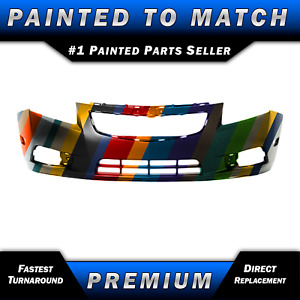 New Painted To Match Front Bumper Fascia Direct Fit For 2011 2014 Chevy Cruze