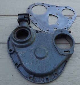 Lincoln Electric Sa 200 Welder F 163 Continental Gear Cover With Inter Plate