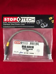 Stoptech Stainless Steel Rear Brake Line 89 00 Toyota 4 Runner 950 44510