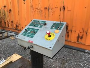 Wiegmann Industrial Console Control Panal Electric Box Air Over Hydraulic Valve