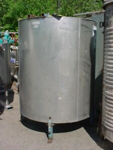 500 Gallon Stainless Steel Jacketed Tank