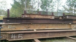 Construction Materials Structural Steel Beams Various Lengths W Shapes