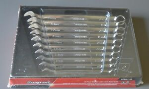 New Snap On Tools 10 Piece Metric Flank Drive Combination Wrench Set 10 19mm