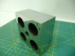 Giant Zeiss Optical Square Cube 1sec Gage Block Cmm Calibration Toolmakers