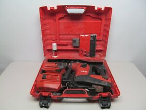 Hilti Te 30 a36 36v Cordless Rotary Combihammer Drill Tool W case batteries char