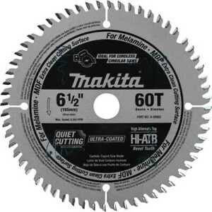 Makita A 99982 6 1 2 60t atb Carbide tipped Plunge Cut Track Saw Blade New