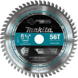 Makita A 99976 6 1 2 56t Carbide tipped Cordless Plunge Cut Track Saw Blade New