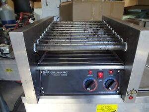 Star Grill max Pro Model 20 Table Top Hot Dog Roller Grill Great For Food Truck