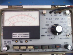 Wester Electric 145a Test Set